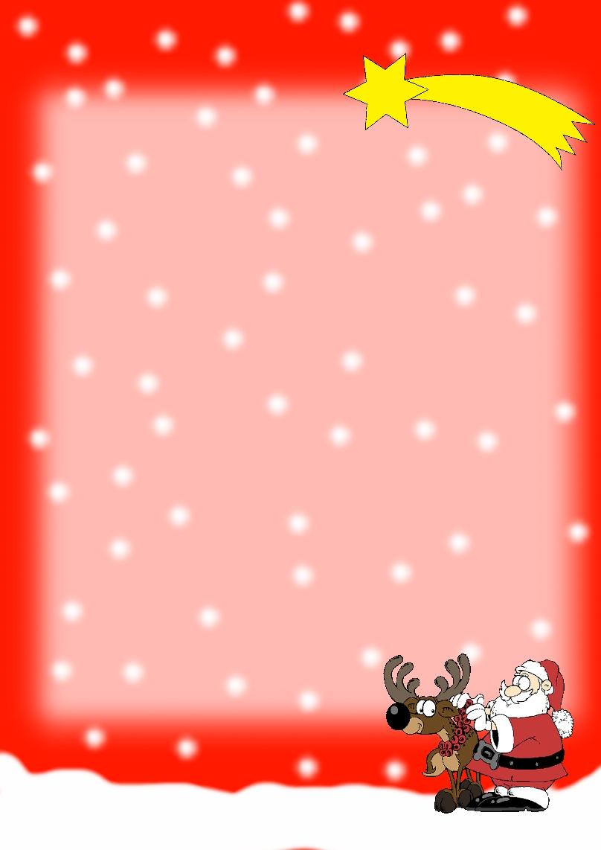 Kostenloses Briefpapier Weihnachten Vorlagen Zum Selbst