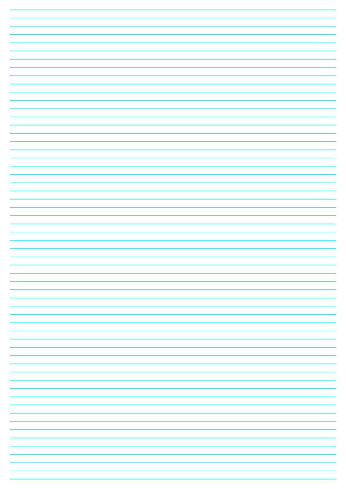 Kostenloses Briefpapier mit Linien - Briefpapier-Vorlagen zum selbst ...